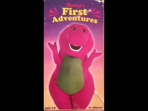 barney s first adventures vhs release