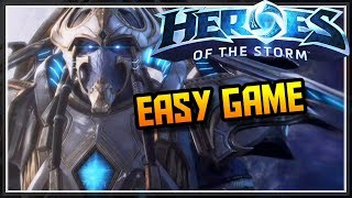 Heroes Of The Storm 2.0 Artanis Gameplay - EASY GAME - HotS Artanis Quick Match