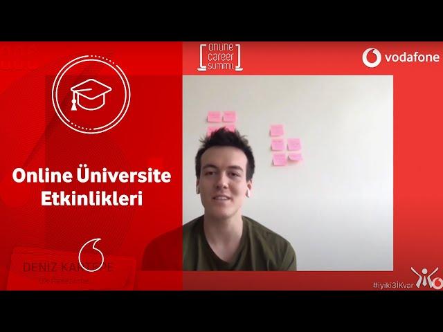 Online Üniversite Etkinliklerimiz Başladı! Kullanıcı Deneyimi (UX) Hakkında Her Şey