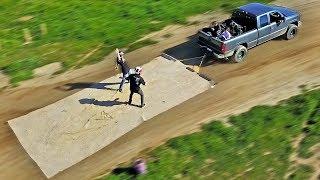 Worlds Largest MAGIC CARPET ride! (40mph)