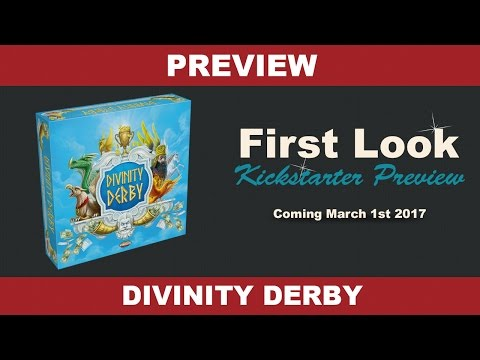 Divinity Derby by Areas Games - Setup and Gameplay