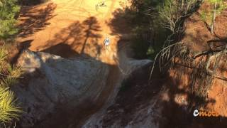 Ripping hill climbs at the Sand Pit