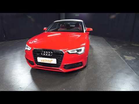 Audi A5 Cabriolet 3.0 V6 TDI 180 Quattro S-Line Aut., Avoauto, Automaatti, Diesel, Neliveto, EMA-733