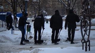 Київ після снігопаду
