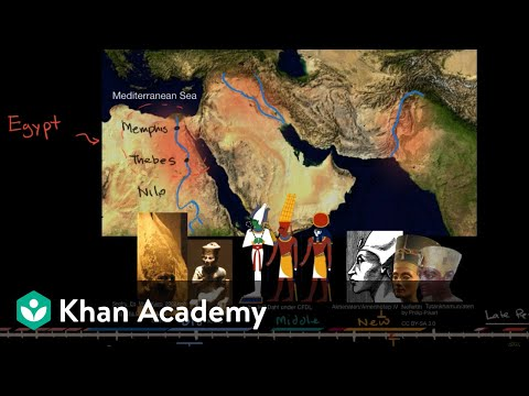 Ancient Egypt and the Nile River Valley (video) | Khan Academy