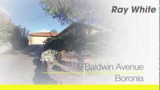 9 Baldwin Avenue, Boronia. Agent: Chris Watson 0406 003 856.