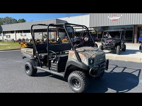 2020 Kawasaki Mule 4010 Trans4x4 Camo in Greenville, North Carolina - Video 1