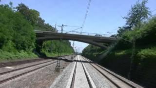 preview picture of video 'Stuttgart - Waiblingen Führerstandsmitfahrt  Remsbahn'