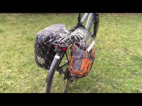 Gepäcknetz für Fahrrad