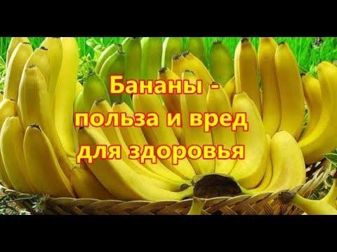 Бананы  польза и вред для здоровья. Почему нужно употреблять бананы ежедневно