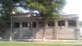 Средняя школа №39 г.Луганск после обстрела нацгадами.
