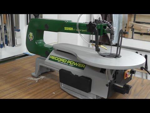 Dekupiersaege Record Power SS16V