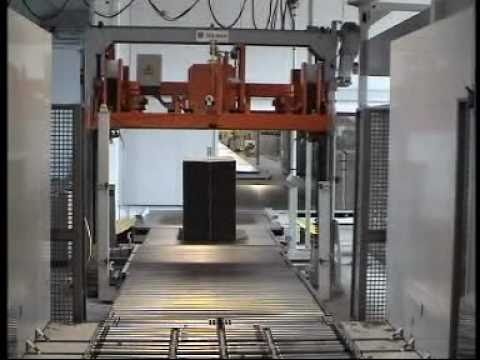 Automatic strapping machine for corrugated cardboard | From Trio Packaging Systems