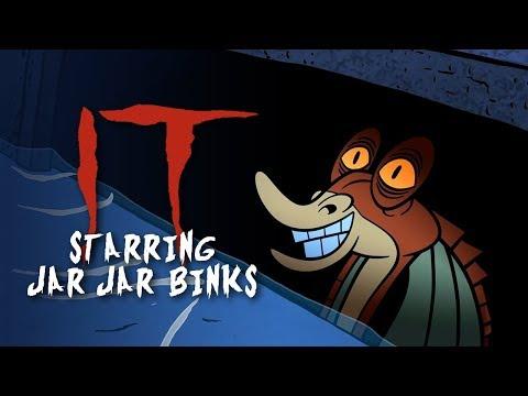 IT Starring Jar Jar Binks - Hero Swap