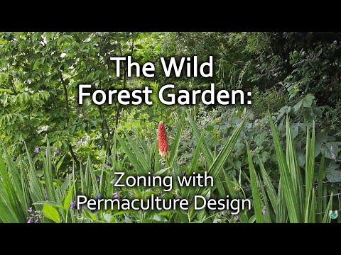 The Wild Forest Garden – zoning with permaculture design