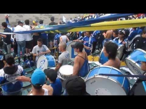 """BLUE RAIN - LOS MANDAMOS PARA ORIENTAL, SI SI SEÑORES"" Barra: Blue Rain • Club: Millonarios"