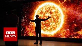 Samsung's new shape-shifting TVs revealed - BBC News