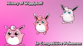 Wigglytuff  - (Pokémon) - How GOOD was Wigglytuff ACTUALLY? - History of Wigglytuff in Competitive Pokemon (Gens 1-6)