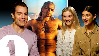 """""""It's very iconic!"""" The Witcher's Henry Cavill on *that* bath scene, Geralt's voice and meeting fans"""