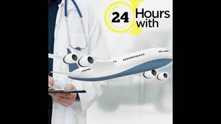 Take on Rent the Best Air Ambulance Service in Ahmadabad by King