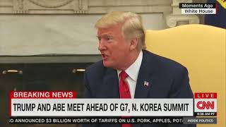 Trump on preparations for summit with North Korea