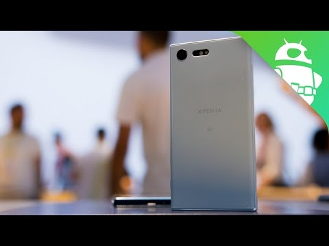 Sony Xperia X Compact Hands On