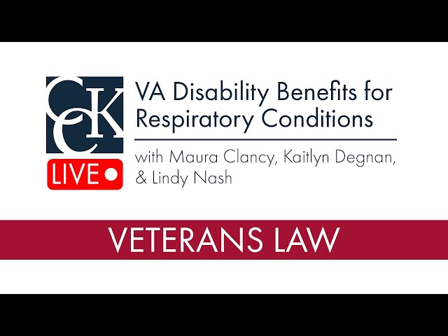 VA Disability Benefits for Respiratory Conditions