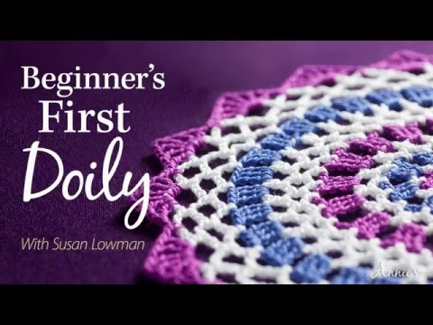 Learn How to Crochet a Doily | an Annie's Online Class PREVIEW