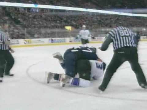 Dustin Penner vs. Jack Johnson