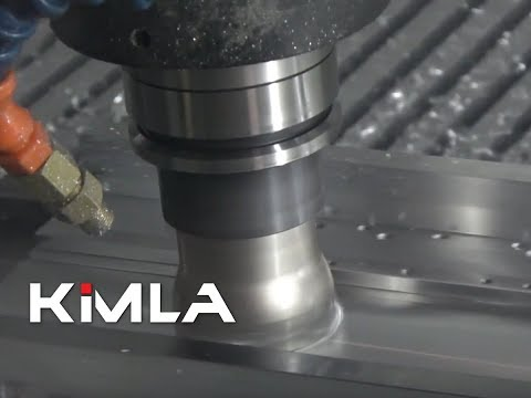 Frezowanie aluminium na BFN Linear głowica 50mm