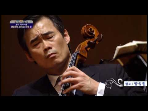 Brahms Cello Sonata E minor Mov.2 : Sung-won Yang, Enrico Pace