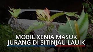 Mobil Xenia Terjun ke Jurang Jalan Padang-Solok, Penumpang dan Sopir Terluka