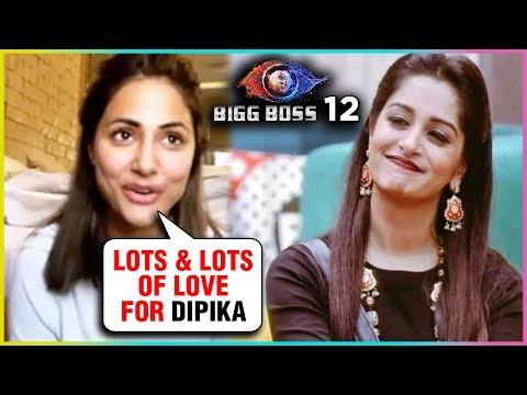 Hina Khan SWEET MESSAGE For Dipika Kakar For Winni