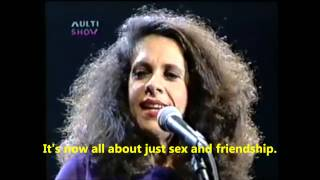 "Ta Combinado (""Deal"")   Caetano Veloso And Gal Costa   Subtitles In English"