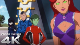 Damian Wayne Meets The Teen Titans