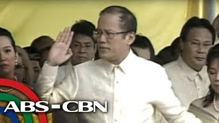 Aquino takes oath as 15th President of the Republic of the Philippines