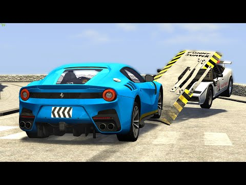 OUT OF CONTROL CRASHES #35 - BeamNG Drive | CRASHdriven