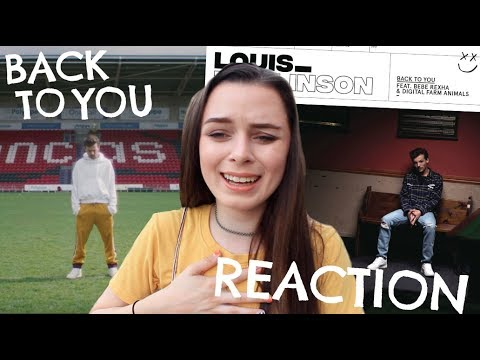 LOUIS TOMLINSON BACK TO YOU REACTION