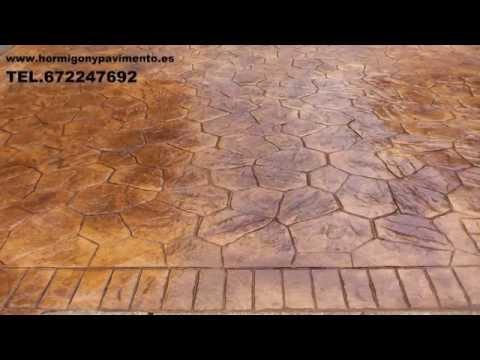 HORMIGON IMPRESO FOGARS DE MONTCLUS 672247692 BARCELONA