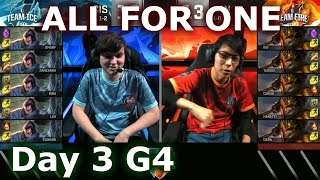 CIS (Yasuo) vs Japan (Jarvan IV) One For All Mode   2016 LoL IWC All-Stars Day 3   FIRE vs ICE
