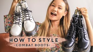 HOW TO WEAR & STYLE - Combat Boots | Victoria Hui