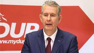 video: Edwin Poots vows to 'undermine' Northern Ireland protocol after being elected DUP leader