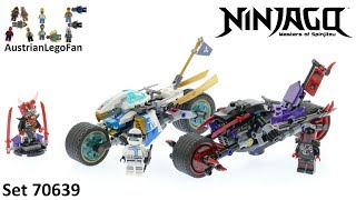 Lego Ninjago 70639 Street Race of Snake Jaguar - Lego Speed Build Review