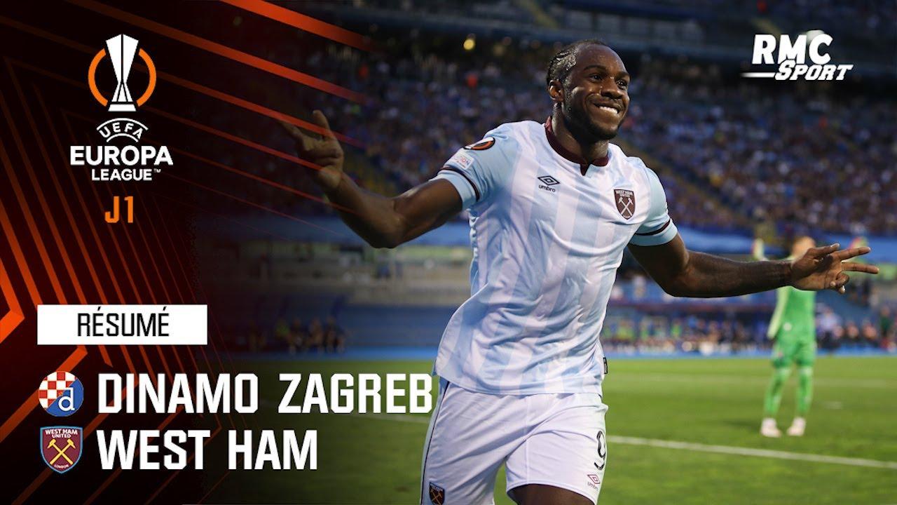 Résumé : Dinamo Zagreb 0-2 West Ham - Ligue Europa J1