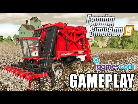 FARMING SIMULATOR 19 | GAMEPLAY – First Look (Gamescom)