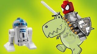Человек паук лгун! Правда или вымысел? Лего мультики. Новые мультфильмы 2018