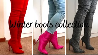 Winter Essentials | Boots Collection: Ankle, Thigh High, Over The Knee Boots | XBOIPELOx