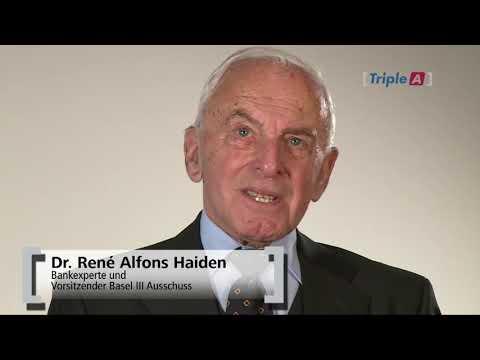 Dr. René-Alfrons Haiden / Chef des Basel III Ausschusses