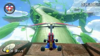 Cloudtop Cruise - 1:56.505 - apple (Mario Kart 8 World Record)