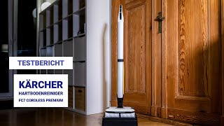 Testbericht: Kärcher FC7 CORDLESS Premium